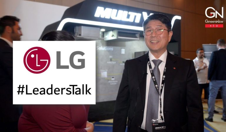 #LeadersTalk with the President of LG Electronics Gulf, Yong Geun Choi