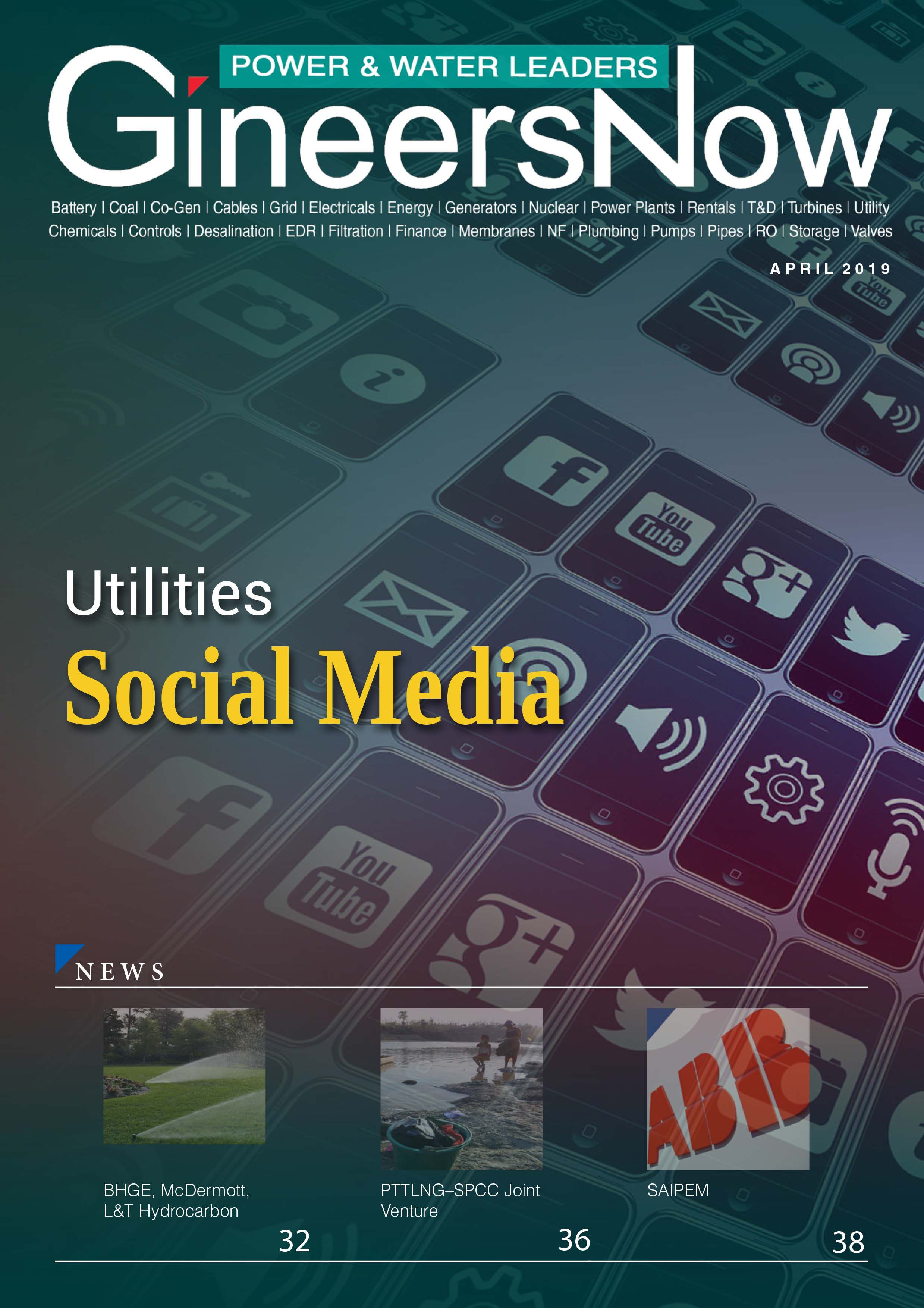 Social Media for Power and Water Utility Companies